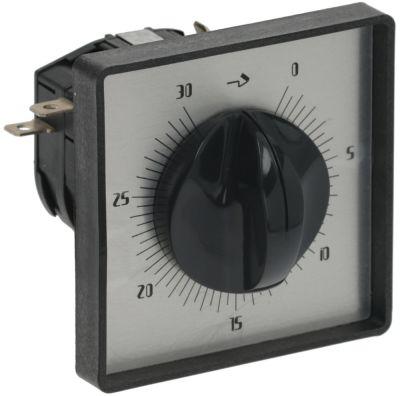 χρονόμετρο C53   - 4-πόλοι χρόνος λειτουργίας 30min  ώση μηχανικό 2NO/2NC