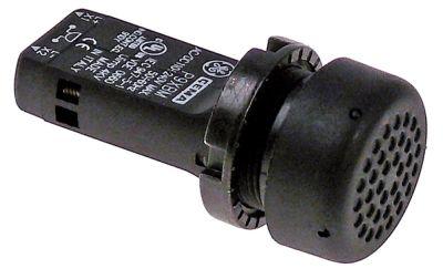 βομβητής 110-240VAC  ø 22,5mm H 68mm ενσωματωμένη έκδοση ø διάταξης στερέωσης 22,5 80dB