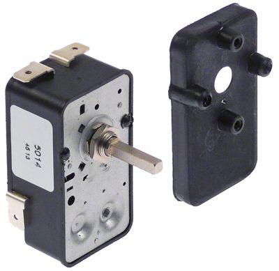 χρονόμετρο G   - 2-πόλοι χρόνος λειτουργίας 30min  ώση μηχανικό 2NO  στα 250V 16A μόνιμη θέση αρ.