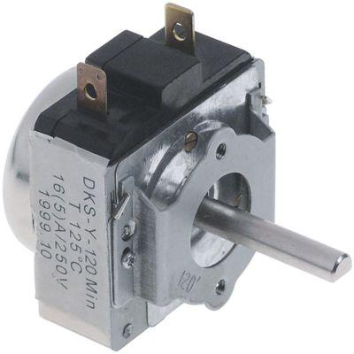 χρονόμετρο M11  με κώδωνα 1-πόλοι χρόνος λειτουργίας 120min  ώση μηχανικό 1NO