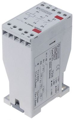 χρονικό FIBER  5A γεννήτρια παλμών χρονισμού 230V τάση AC  χρονικό εύρος T1 4 min T2 10 s