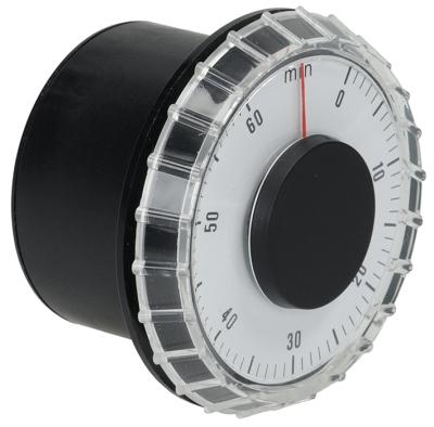 χρονόμετρο KS65   - 1-πόλοι χρόνος λειτουργίας 60min  ώση μηχανικό 1CO