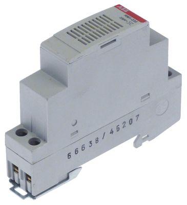 συσκευή συναγερμού 230VAC  H 75mm ράγα DIN 80dB προστασία IPx0