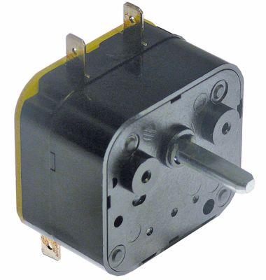 χρονόμετρο 601 2-πόλοι χρόνος λειτουργίας 4min  ώση μηχανικό 2CO  στα 250V 16A ø άξονα 6x4,6 mm