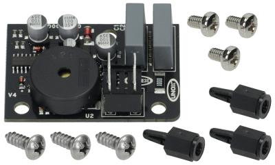 βομβητής πλακέτας Μ 54mm W 38mm σύνδεσμος αρσενικό εξάρτημα 6,3mm