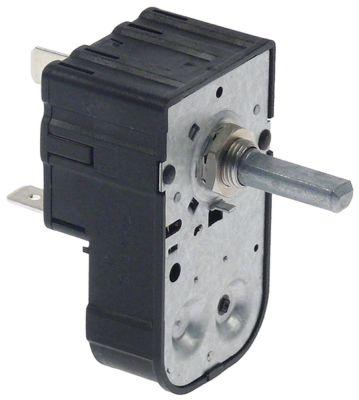 χρονόμετρο MI7  1-πόλοι χρόνος λειτουργίας 120min  ώση μηχανικό SPST στα 250V 16A μόνιμη θέση αρ.