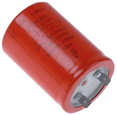 πυκνωτής εκκίνησης 320V 50/60 Hz ηλεκτρολυτικό χωρητικότητα 125µF