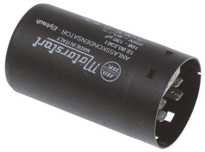 πυκνωτής εκκίνησης 220V 50-60 Hz χωρητικότητα 108-130 µF