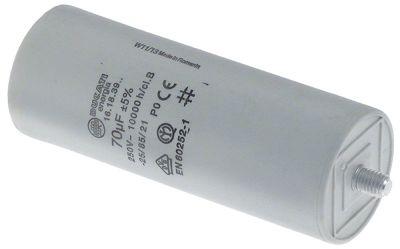 πυκνωτής λειτουργίας χωρητικότητα 70µF 250V συμπυκνωτής κυπέλλου ανοχή 5% 50Hz