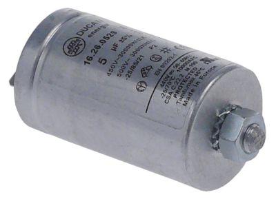 πυκνωτής χωρητικότητα 5µF 450V συμπυκνωτής κυπέλλου ανοχή 5% 50/60 Hz
