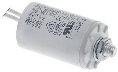 πυκνωτής λειτουργίας χωρητικότητα 4µF 450V ανοχή 5% 50/60 Hz