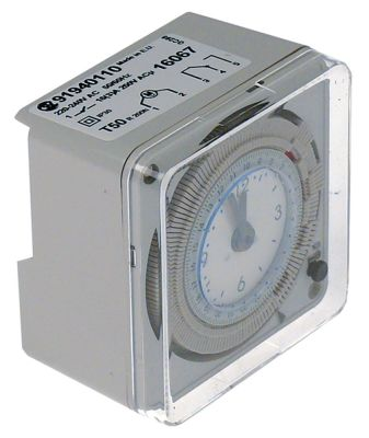 ρολόι διακόπτη τύπος 91940110 διάστημα απόψυξης 1-72x ανά 24h