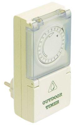 χρονοδιακόπτης για ηλεκτρική πρίζα ρύθμιση μηχανικό χρόνος λειτουργίας 24h