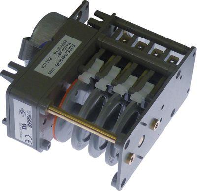 χρονοδιακόπτης CDC  7804F  κινητήρες 1 θάλαμοι 4 χρόνος λειτουργίας 150s  230V ø άξονα  -mm
