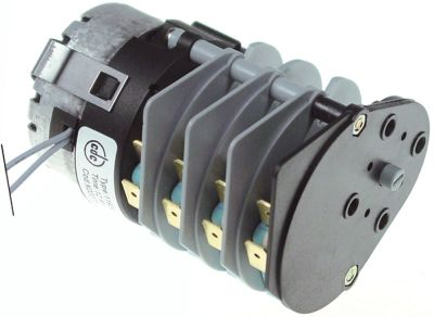 χρονοδιακόπτης CDC  11904 κινητήρες 1 θάλαμοι 4 χρόνος λειτουργίας 12min  230V ø άξονα  -mm