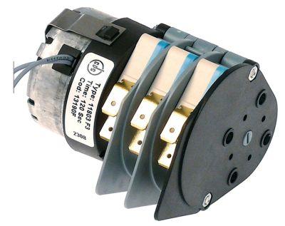 χρονοδιακόπτης BIGATTI  11803 κινητήρες 1 θάλαμοι 3 χρόνος λειτουργίας 120s  230V