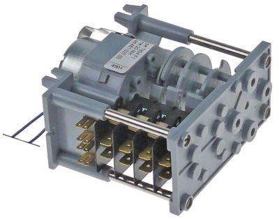 χρονοδιακόπτης CDC  7804F  κινητήρες 1 θάλαμοι 4 χρόνος λειτουργίας 20min  230V 50/60 Hz