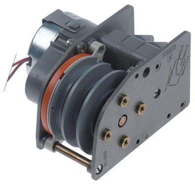 χρονοδιακόπτης FIBER  P25  κινητήρες 1 θάλαμοι 3 χρόνος λειτουργίας 100s  230V ø άξονα  -mm