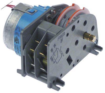 χρονοδιακόπτης FIBER  P25  κινητήρες 1 θάλαμοι 2 χρόνος λειτουργίας 8min  230V 50/60 Hz