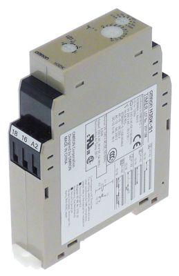 χρονικό OMRON  H3DK-S1  χρονικό εύρος 0,1s-1200h  24-240V AC/DC  5A σύνδεσμος βιδωτός σφιγκτήρας