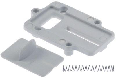 κάλυμμα USB πλαστικό A  διάταξη στερέωσης τοποθέτηση με βίδα
