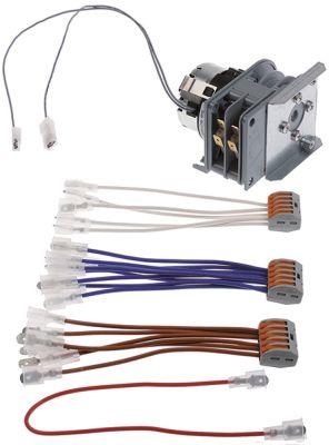χρονοδιακόπτης CDC  κιτ κινητήρες 1 θάλαμοι 2 χρόνος λειτουργίας 12min  230V 50-60 Hz