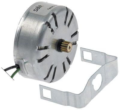 κιτ κινητήρα ø γραναζιού 6,8mm δόντια 15 24V τάση AC  50/60 Hz