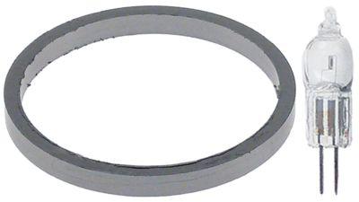 λάμπα φούρνου περιλαμβάνεται τσιμούχα ø διάταξης στερέωσης 10mm 12V 10W υποδοχή G4