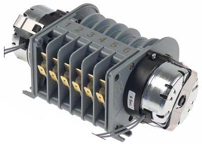 χρονοδιακόπτης CDC  4906DV  κινητήρες 2 θάλαμοι 6 χρόνος λειτουργίας 6s / 2min  230V 50Hz