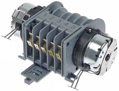 χρονοδιακόπτης CDC  49050V κινητήρες 2 θάλαμοι 5 χρόνος λειτουργίας 6s / 2min  230V