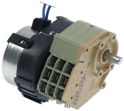 χρονοδιακόπτης CROUZET  600 κινητήρες 1 θάλαμοι 3 χρόνος λειτουργίας 20min  230V ø άξονα 6x4,6 mm