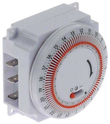 ρολόι διακόπτη τύπος MT-24H-A διάστημα απόψυξης 1-24x σε 24 ώρες