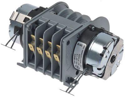 χρονοδιακόπτης CDC  4904DV  κινητήρες 2 θάλαμοι 4 χρόνος λειτουργίας 2min / 7,5min  230V