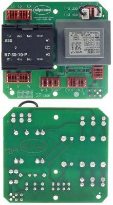 πλακέτα για συσκευή μίξερ ζύμης Μ 102mm W 95mm B7 SIPREM ART. SR 798