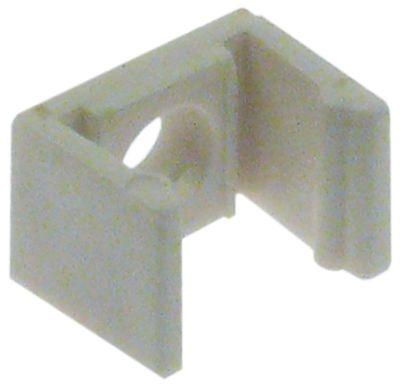 ντουί για φωτισμό LED Μ 16mm W 10mm πάχος 12mm ø αναγν. 4,3mm