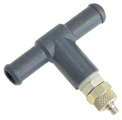 Τ σύνδεσης με ανεπίστροφη βαλβίδα ø σωλήνα 38817mm