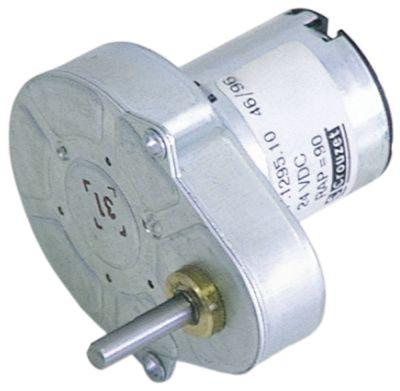 μειωτήρας CROUZET  τύπος 82048054 24V τάση DC  120σαλ ø άξονα 4x5 mm Μ 56mm W 50mm H 51mm