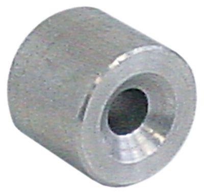 βαρίδιο με φίλτρο ø αναγν. 6mm εξ. ø 20 Μ 17.5mm 37g Ανοξείδωτο ατσάλι
