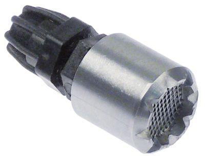 φίλτρο δοχείου με βαρίδι ανοξείδωτος χάλυβας ø σωλήνα 4x6 mm