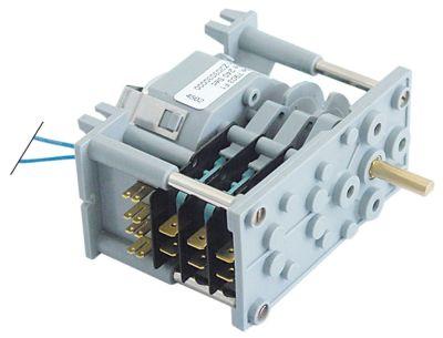 χρονοδιακόπτης 7903F  θάλαμοι 3 χρόνος λειτουργίας 4min  230V ø άξονα 6x4,6 mm