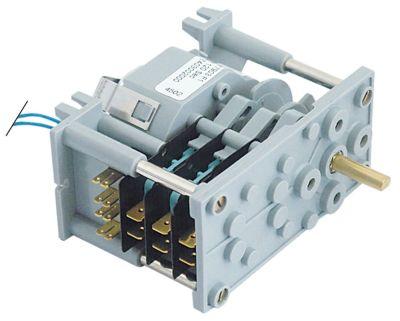 χρονοδιακόπτης 7903F  θάλαμοι 3 χρόνος λειτουργίας 120s  230V ø άξονα 6x4,6 mm