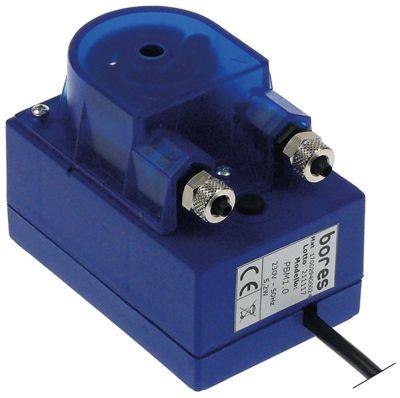 δοσομετρητής BORES  χωρίς ελεγκτή 1l/h 230VAC  λαμπρυντικό ø σωλήνα 4x6 mm