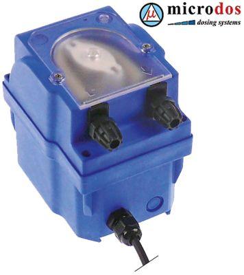 δοσομετρητής MICRODOS  έλεγχος ταχύτητας 4l/h 230VAC  απορρυπαντικό ø σωλήνα 4x6 mm