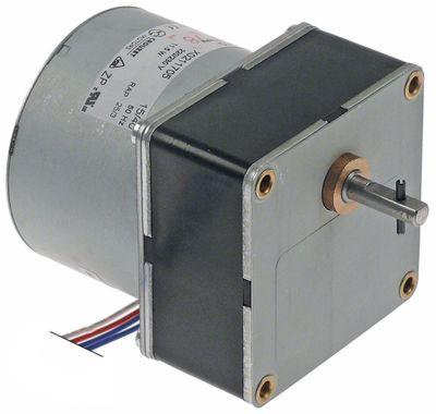 μειωτήρας 230V 30σαλ ø άξονα 6mm 11,5W τύπος X0211705 H 70mm Μ 68mm W 68mm 50Hz