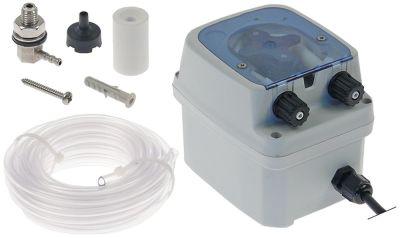 δοσομετρητής χρονοδιακόπτης απορρυπαντικό 0,6-4 l/h 230VAC  τύπος PR