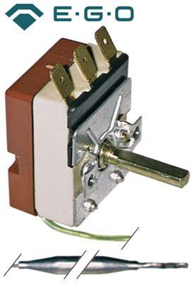 θερμοστάτης EGO  σειρά 55.13_ Μέγ. Θ 110°C εύρος θερμοκρασίας 30-110 °C 1-πόλοι 1CO  16A