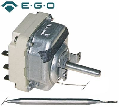θερμοστάτης EGO  σειρά 55.34_ Μέγ. Θ 110°C εύρος θερμοκρασίας 30-110 °C 3-πόλοι 3NO  16A