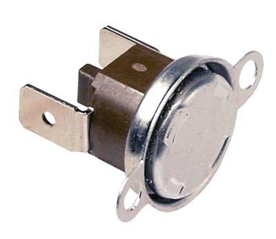 θερμοστάτες ασφαλείας επαφής απόσταση οπής 23,5mm θερμ. απενεργοποίησης 125°C 1NC  1-πόλοι 16A