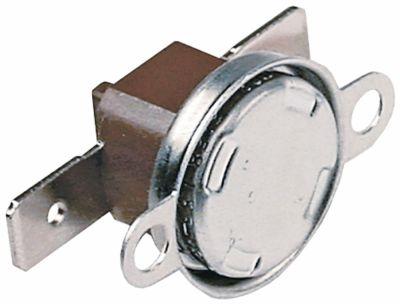 θερμοστάτες ασφαλείας επαφής απόσταση οπής 23,5mm θερμ. απενεργοποίησης 85°C 1NC  1-πόλοι 16A
