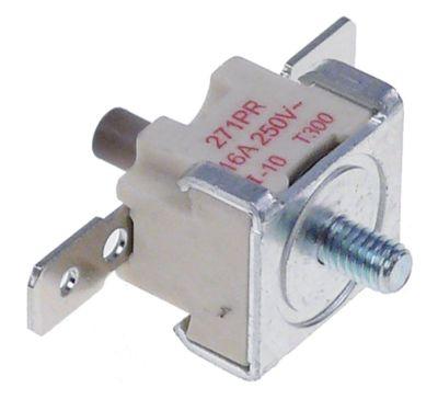 θερμοστάτες ασφαλείας επαφής απόσταση οπής  -mm θερμ. απενεργοποίησης 300°C 1NC  1-πόλοι 16A